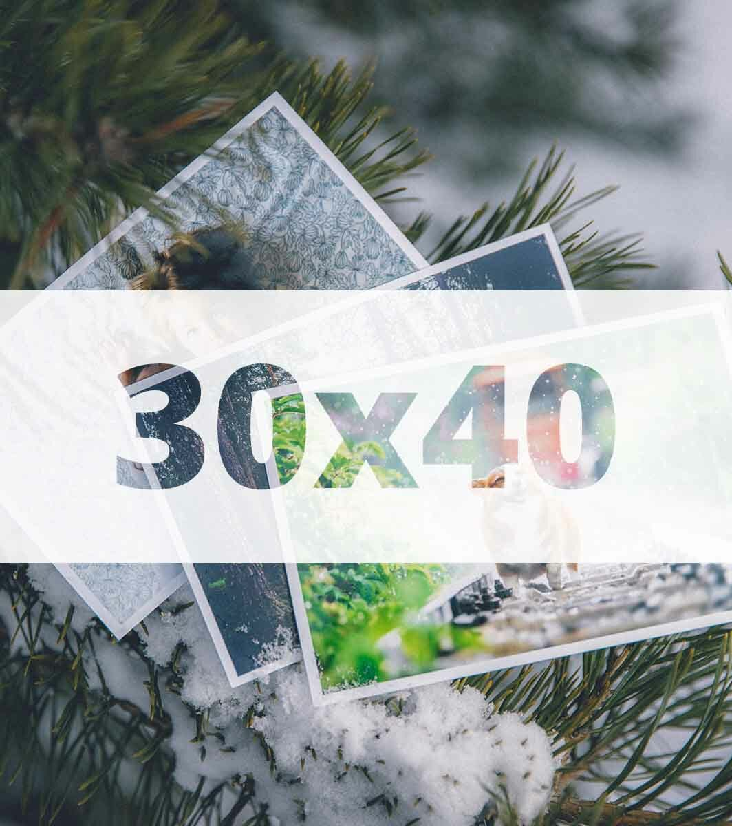 Odbitka 30x40 - Master Foto Kielce