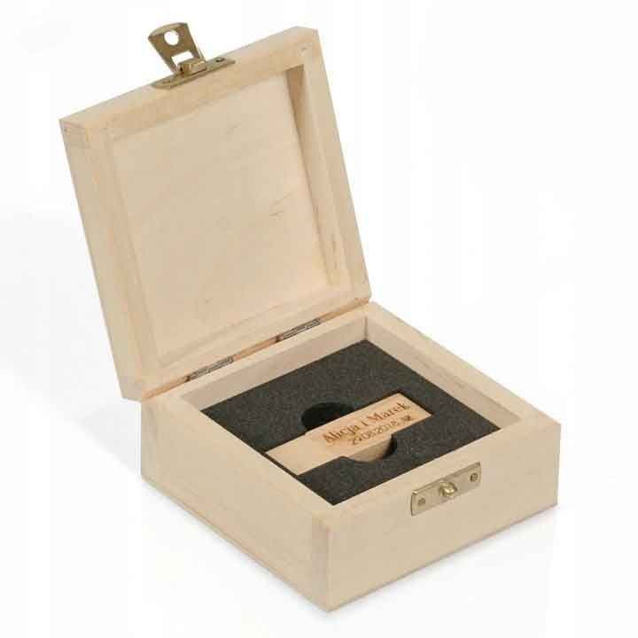 Pudełko ślubne na pendrive - Master Foto Kielce